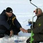 Зимняя ловля налима на жерлицы