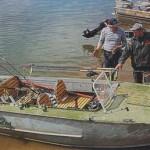 Катер для рыбалки — «вооружен и очень опасен»!