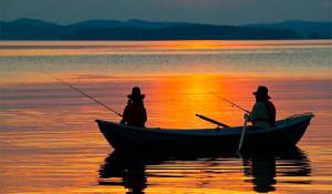 Карта рыболовных мест Республики Карелия