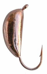 мормышка вольфрамовая со смещенным центром