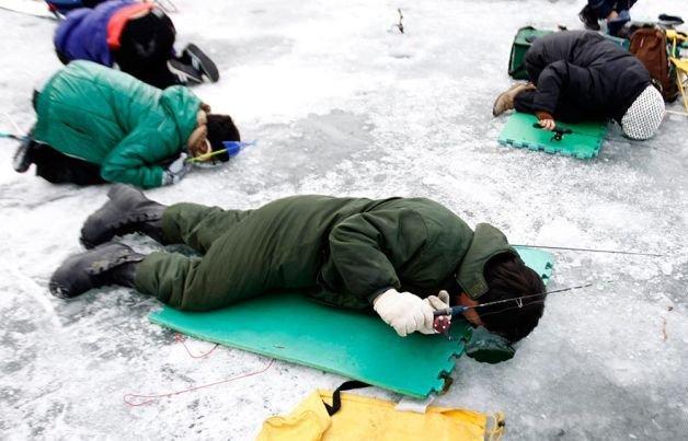 как не замерзнуть на рыбалке