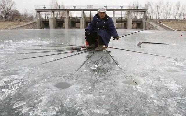 рыбалка на несколько удилищ