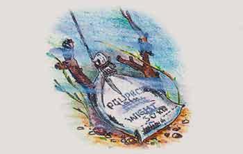 Песочный якорь для лодки
