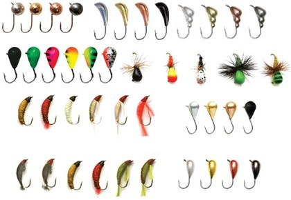 Выбор мормышки для ловли окуня в ноябре